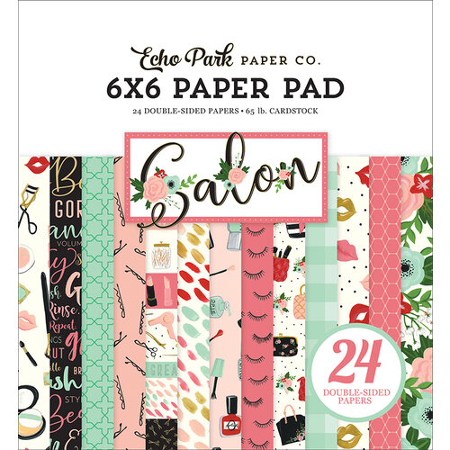 Echo Park - Salon Collection - 6 x 6 Paper Pad