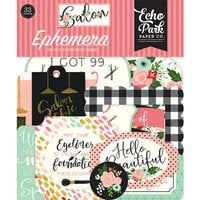Echo Park - Salon Collection - Ephemera