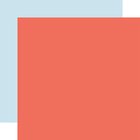 Echo Park - Salutations No. 1 Collection - 12 x 12 Double Sided Paper - Coral