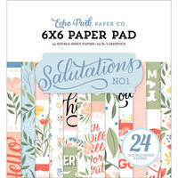 Echo Park - Salutations No. 1 Collection - 6 x 6 Paper Pad