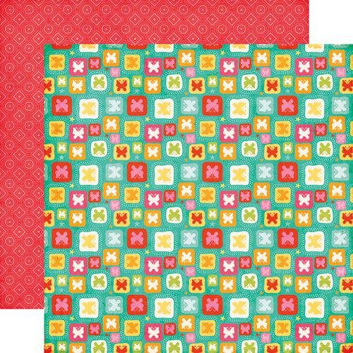 Echo Park - Summer Bliss Collection - 12 x 12 Double Sided Paper - Summer Butterflies