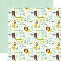 Echo Park - Sweet Baby Boy Collection - 12 x 12 Double Sided Paper - It's a Boy