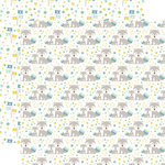 Echo Park - Sweet Baby Boy Collection - 12 x 12 Double Sided Paper - Man Cub