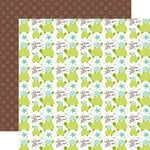 Echo Park - Sweet Baby Boy Collection - 12 x 12 Double Sided Paper - Little One