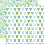 Echo Park - Sweet Baby Boy Collection - 12 x 12 Double Sided Paper - Boy Oh Boy