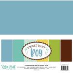 Echo Park - Sweet Baby Boy Collection - 12 x 12 Paper Pack - Solids