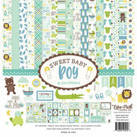 Echo Park - Sweet Baby Boy Collection - 12 x 12 Collection Kit
