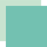 Echo Park - Sweet Baby Boy Collection - 12 x 12 Double Sided Paper - Teal