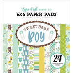 Echo Park - Sweet Baby Boy Collection - 6 x 6 Paper Pad