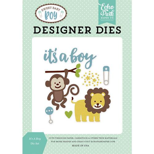 Echo Park - Sweet Baby Boy Collection - Designer Dies - It