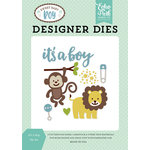 Echo Park - Sweet Baby Boy Collection - Designer Dies - It's a Boy