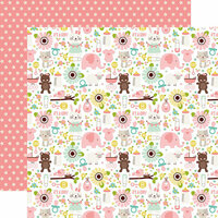 Echo Park - Sweet Baby Girl Collection - 12 x 12 Double Sided Paper - It's a Girl