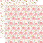 Echo Park - Sweet Baby Girl Collection - 12 x 12 Double Sided Paper - Love You