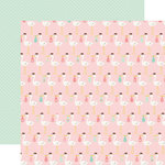 Echo Park - Sweet Baby Girl Collection - 12 x 12 Double Sided Paper - Special Delivery
