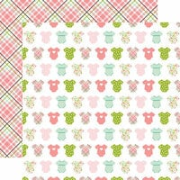 Echo Park - Sweet Baby Girl Collection - 12 x 12 Double Sided Paper - Bundle of Joy