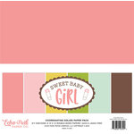 Echo Park - Sweet Baby Girl Collection - 12 x 12 Paper Pack - Solids