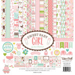Echo Park - Sweet Baby Girl Collection - 12 x 12 Collection Kit