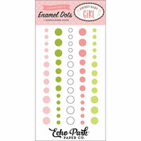 Echo Park - Sweet Baby Girl Collection - Enamel Dots