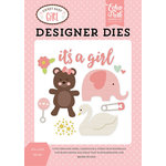Echo Park - Sweet Baby Girl Collection - Designer Dies - It's a Girl