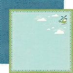 Echo Park - Scoot Collection - 12 x 12 Double Sided Paper - Helicopters