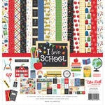 Echo Park - I Love School Collection - 12 x 12 Collection Kit