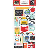 Echo Park - I Love School Collection - Chipboard Stickers - Accents