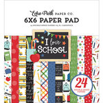 Echo Park - I Love School Collection - 6 x 6 Paper Pad