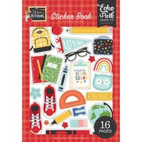 Echo Park - I Love School Collection - Cardstock Sticker Book