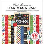 Echo Park - I Love School Collection - 6 x 6 Mega Paper Pad