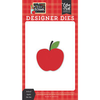 Echo Park - I Love School Collection - Designer Dies - School Apple