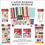 Echo Park - I Love School Collection - 12 x 12 Mega Bundle