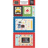 Echo Park - I Love School Collection - Chipboard Stickers - Frames