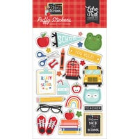 Echo Park - I Love School Collection - Puffy Stickers