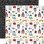 Echo Park - School Rules Collection - 12 x 12 Double Sided Paper - School Day