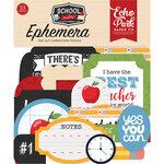 Echo Park - School Rules Collection - Ephemera