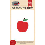 Echo Park - School Rules Collection - Designer Dies - Red Apple