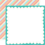 Echo Park - Summer Days Collection - 12 x 12 Double Sided Paper - Die Cut