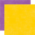 Echo Park - Summer Days Collection - 12 x 12 Double Sided Paper - Yellow