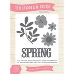 Echo Park - Sunny Days Ahead Collection - Designer Dies - Spring Flowers