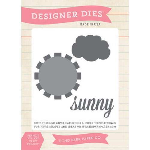 Echo Park - Sunny Days Ahead Collection - Designer Dies - Sunny Day