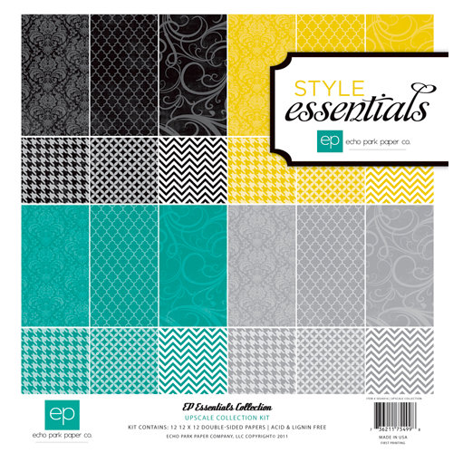 Echo Park - Upscale Collection - 12 x 12 Paper Pack