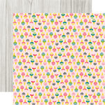 Echo Park - Summer Fun Collection - 12 x 12 Double Sided Paper - Sweet Treat