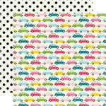 Echo Park - Summer Fun Collection - 12 x 12 Double Sided Paper - Summer Road Trip