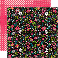 Echo Park - Summer Fun Collection - 12 x 12 Double Sided Paper - Summer Blossoms