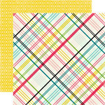 Echo Park - Summer Fun Collection - 12 x 12 Double Sided Paper - Sunny Day