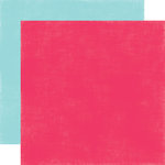 Echo Park - Summer Fun Collection - 12 x 12 Double Sided Paper - Dark Pink