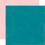 Echo Park - Summer Fun Collection - 12 x 12 Double Sided Paper - Teal