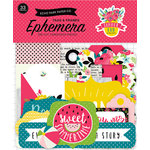 Echo Park - Summer Fun Collection - Ephemera - Frames and Tags