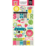 Echo Park - Summer Fun Collection - Chipboard Stickers