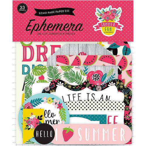 Echo Park - Summer Fun Collection - Ephemera
